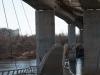 Belle Isle Suspension Bridge